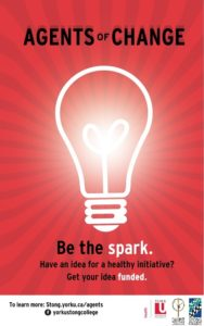 Agents of change be the spark poster