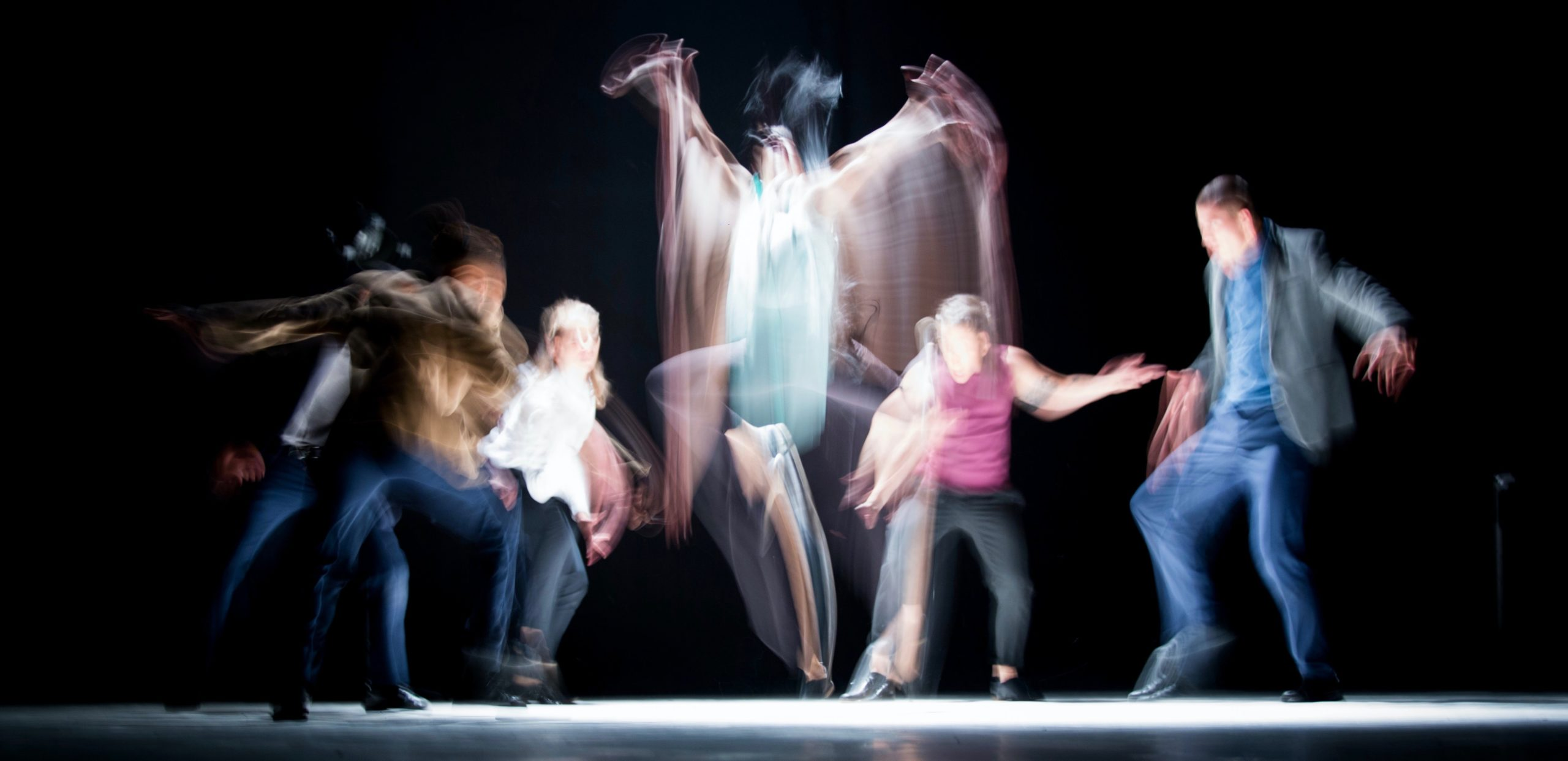 Image of improv performance