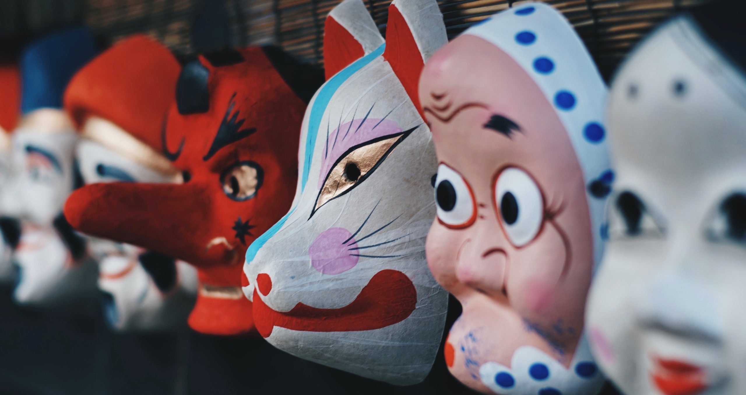Image of different types of masks