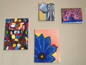 Paintings by Jennine Rawana