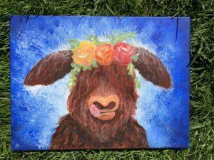 Bull Painting by Dani Rengifo